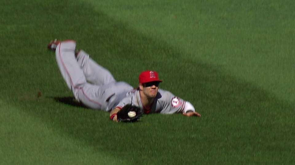 Cowgill's diving catch
