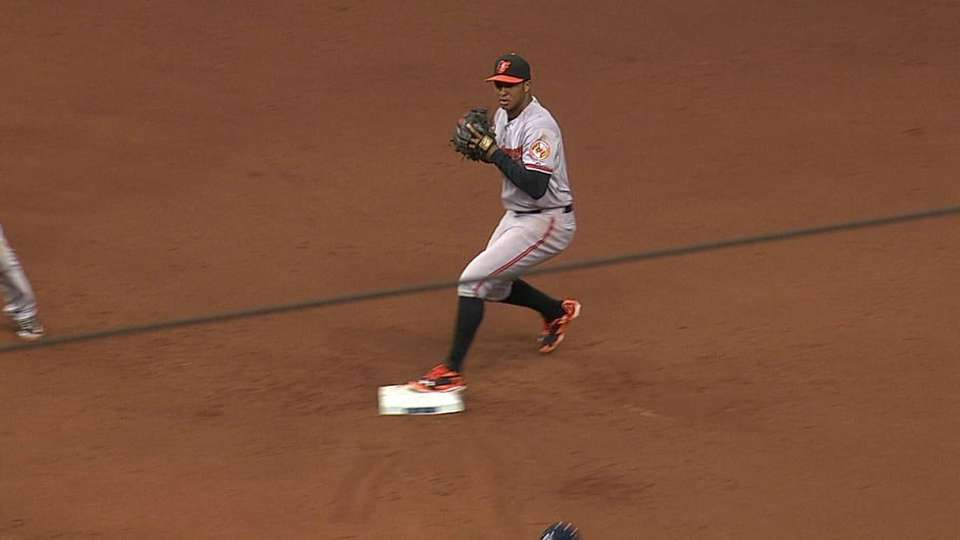 Orioles turn two