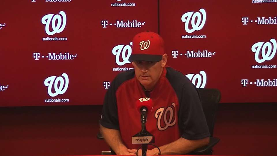 Williams discusses the 3-1 loss