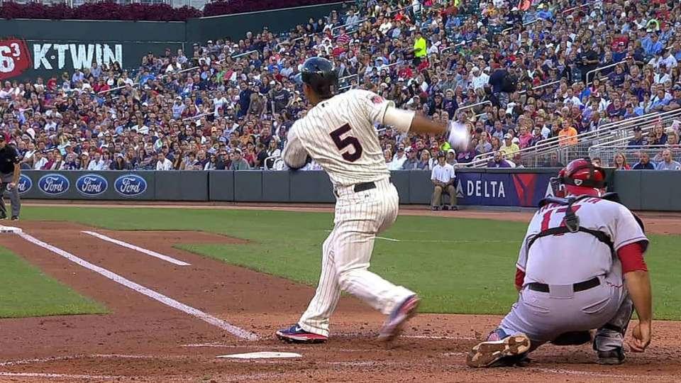 Escobar's two-run home run