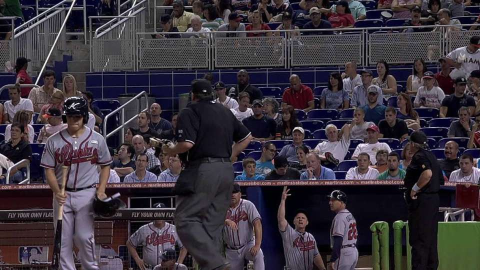Fletcher ejected after strikeout