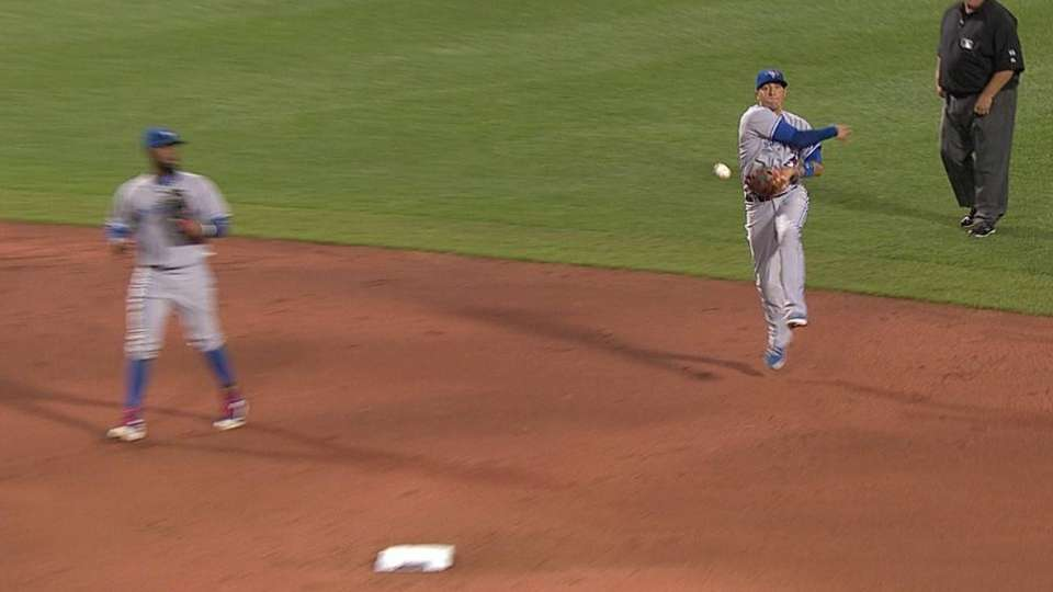 Goins' athletic play
