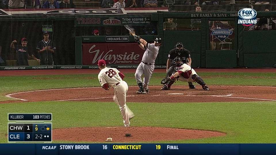Kluber finishes complete game