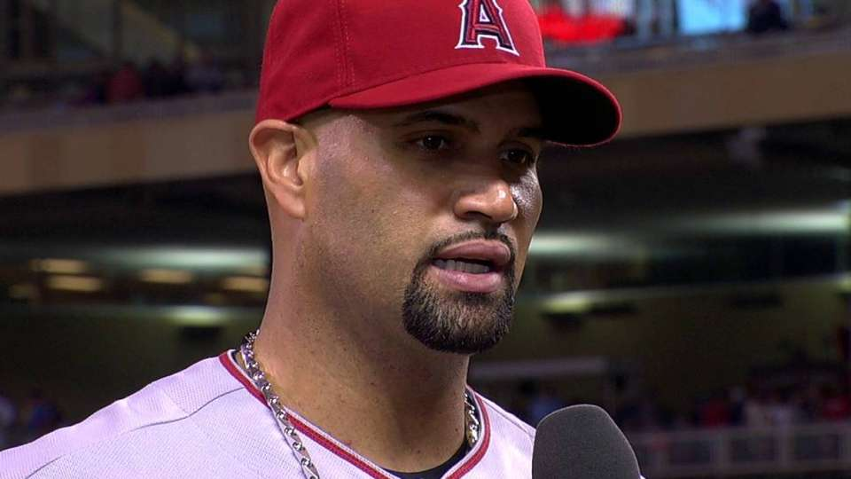 Pujols on his game, Angels' win