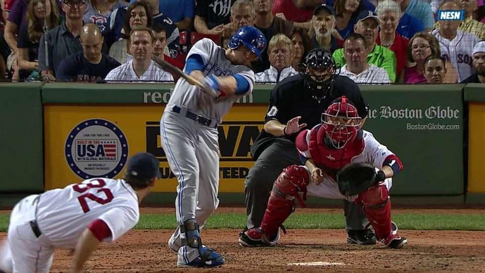 Rasmus' pinch-hit two-run homer