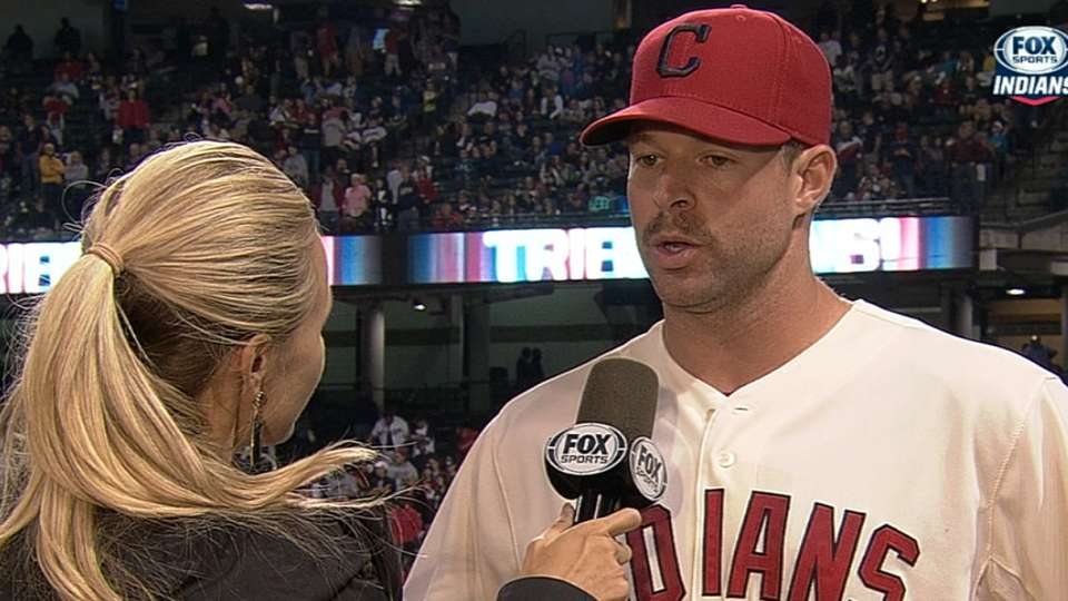 Kluber on his complete-game win