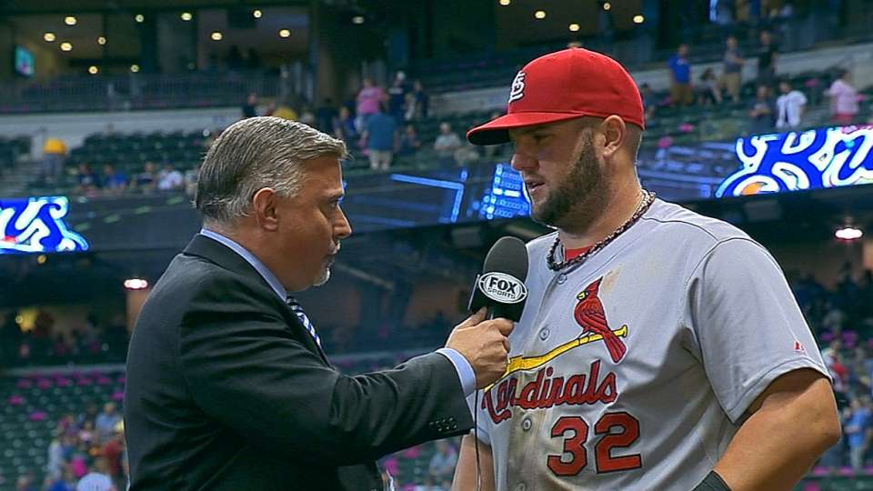 Adams on 5-3 win over Brewers