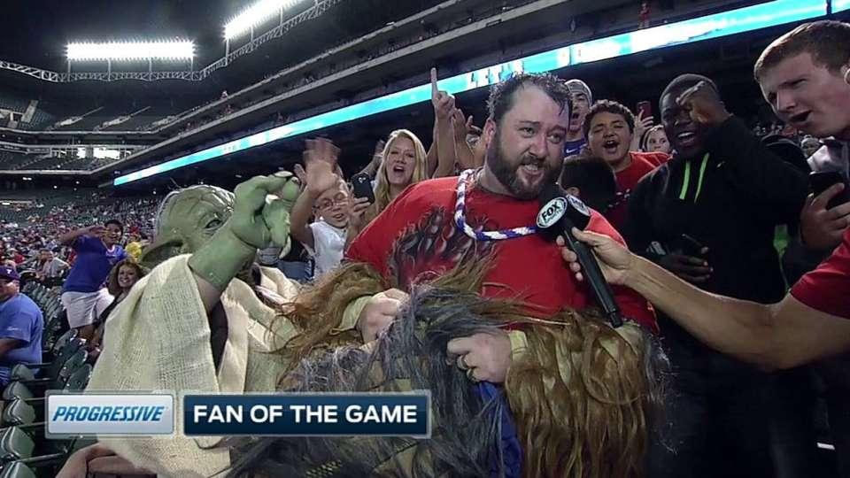 Broadcast talks Yoda, Chewbacca