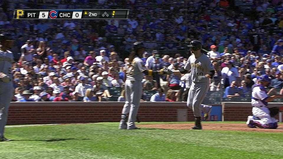 Mercer's two-run shot