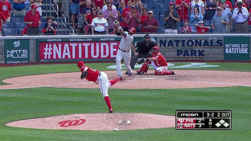 Storen earns the save