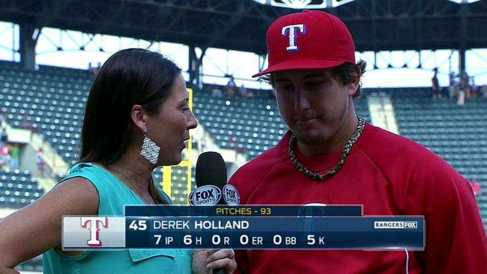 Holland on scoreless start