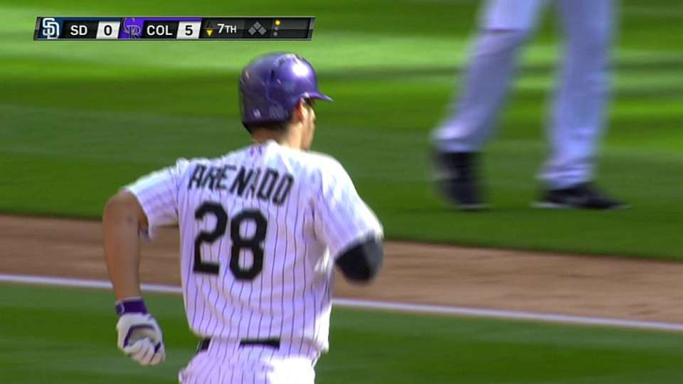 Arenado's two-run shot