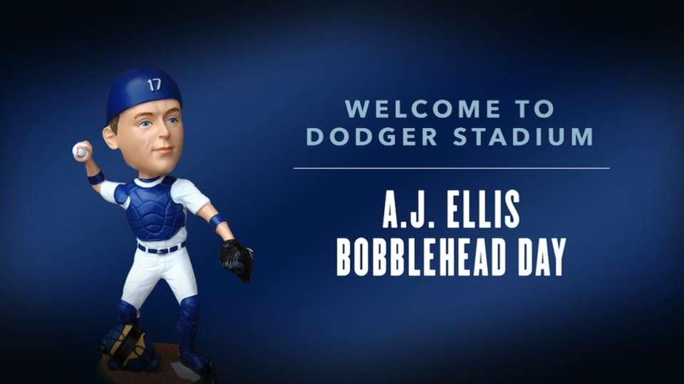 A.J. Ellis' Bobblehead Day