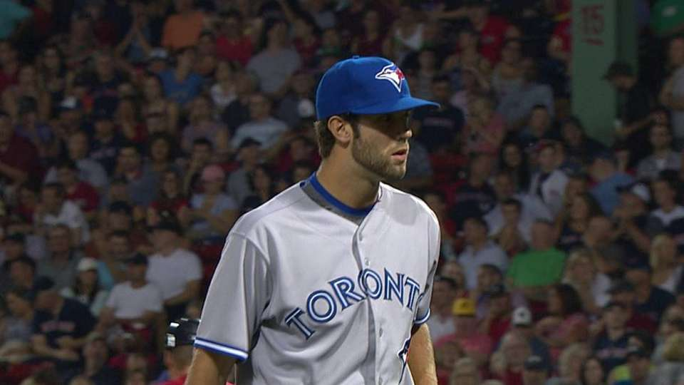 Norris' first MLB strikeout
