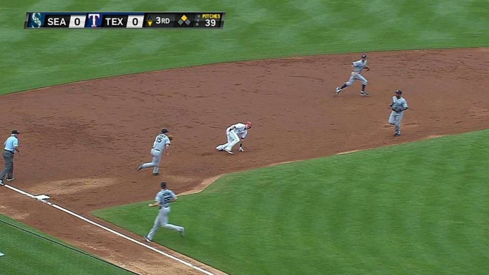 Mariners' double play