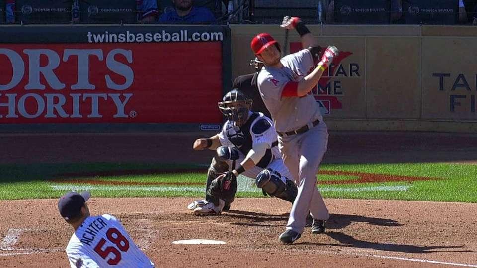 Cron's two-run home run