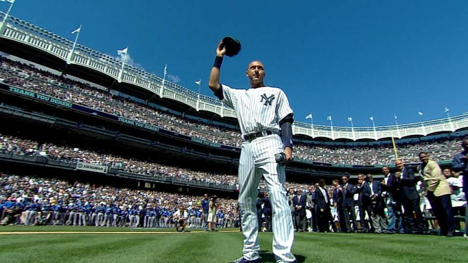 Yanks celebrate Derek Jeter Day