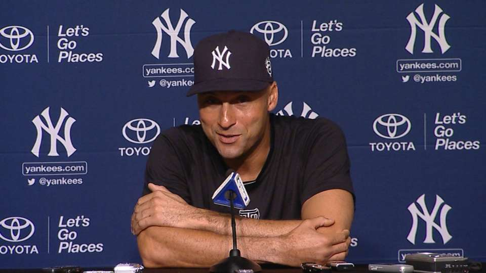 Jeter on ceremony moments