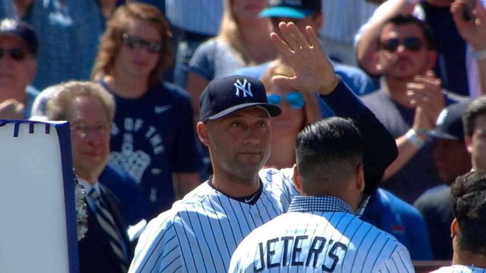 Derek Jeter Day in the Bronx