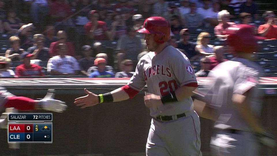 Cowgill's RBI groundout