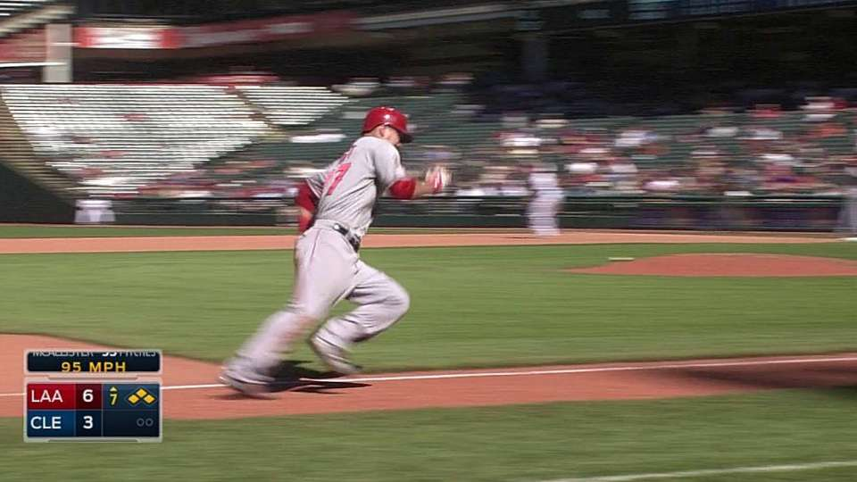 Kendrick drives in Trout