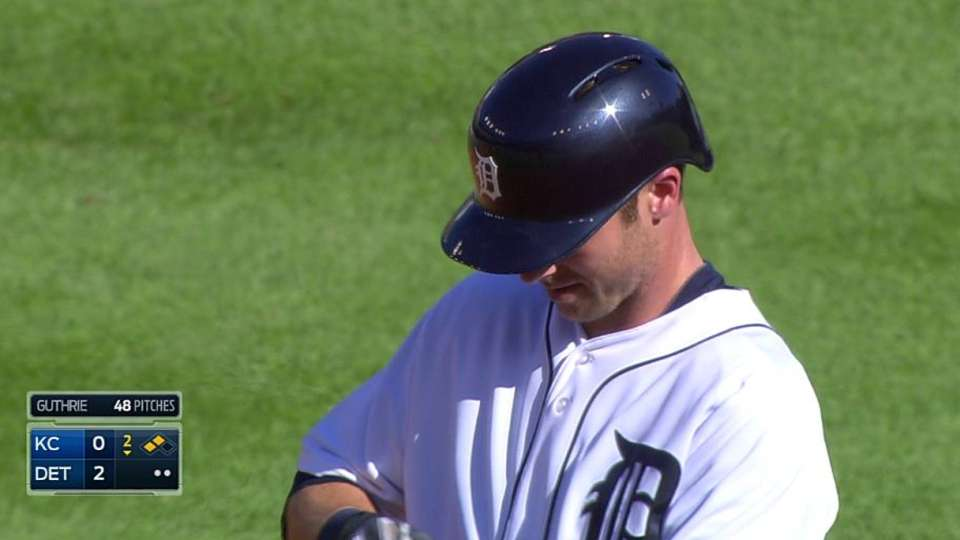 Tigers score two on error