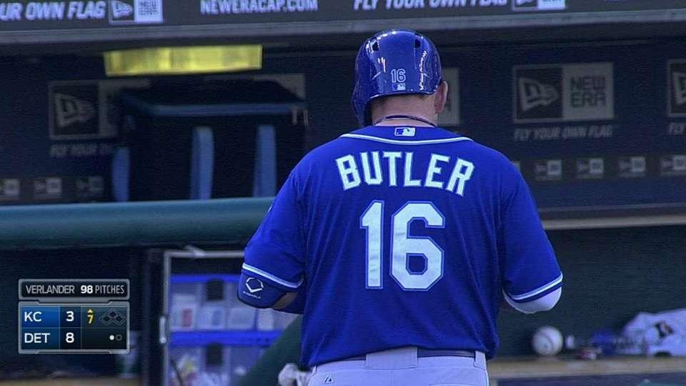 Butler's RBI groundout