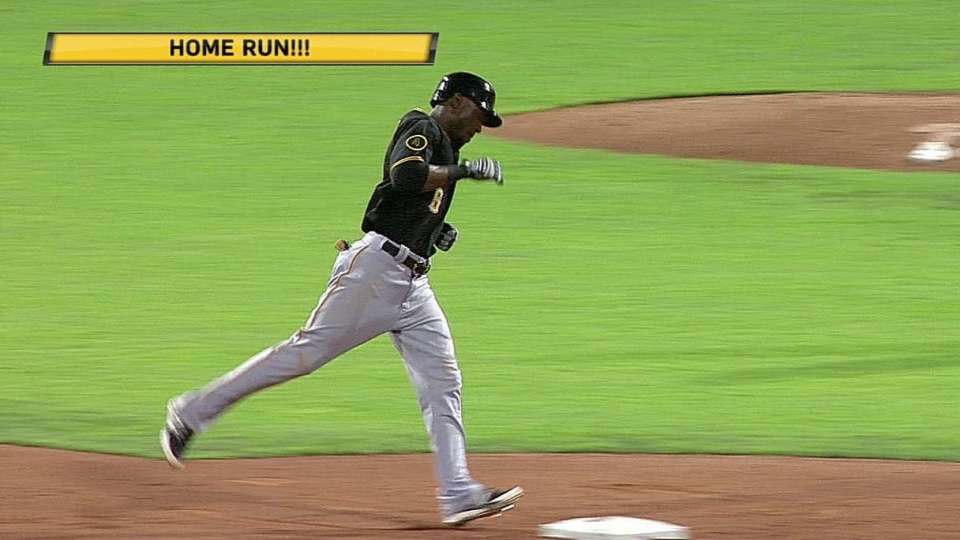 Marte's two-run homer
