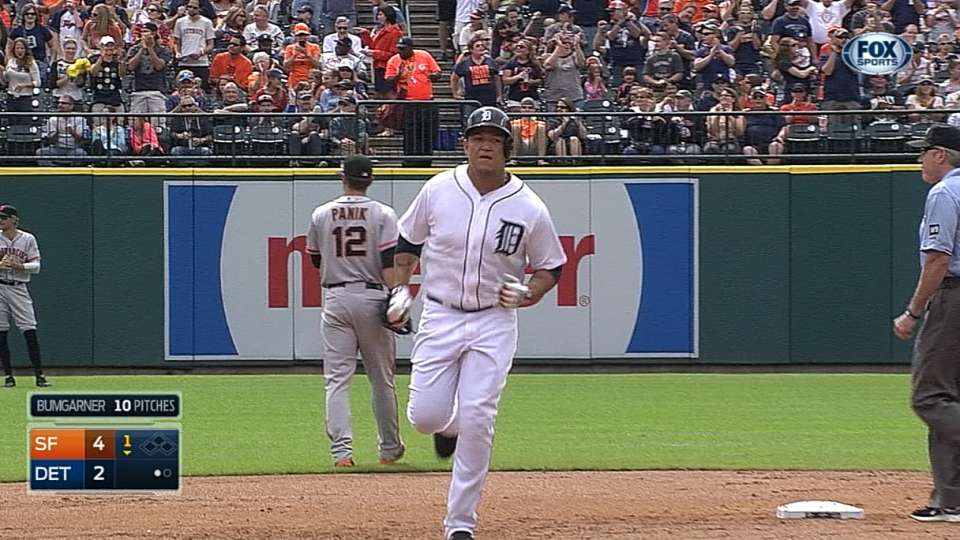 Miggy's two-homer afternoon