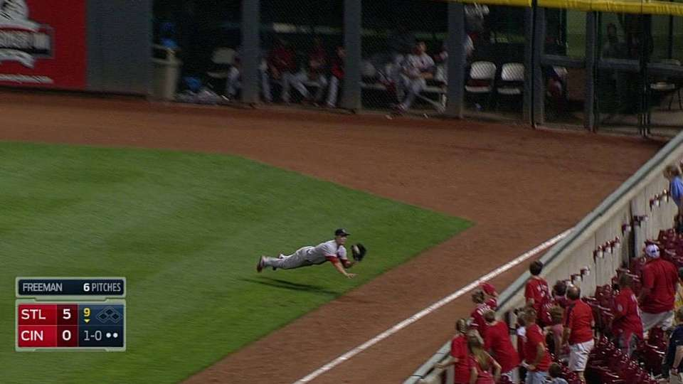 Grichuk's game-ending catch