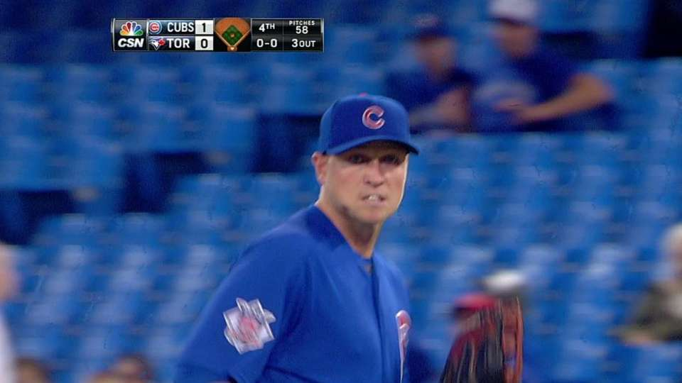 Cubs turn two on liner