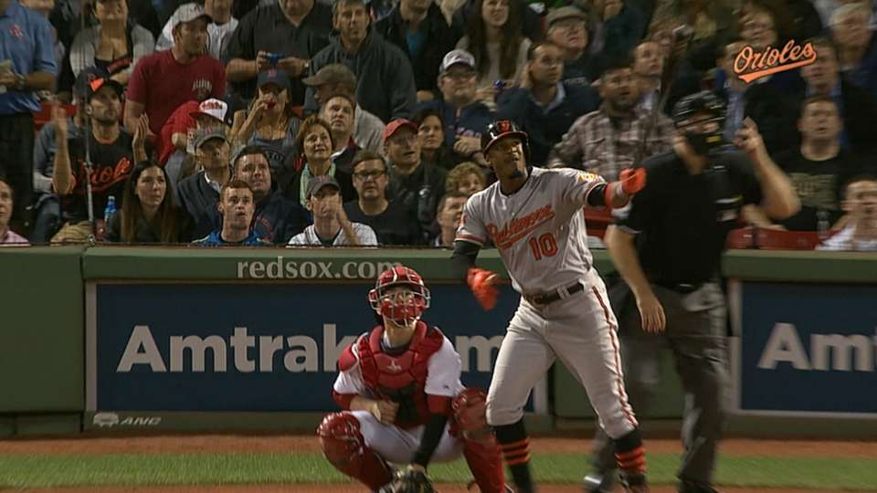 Orioles hit back-to-back homers