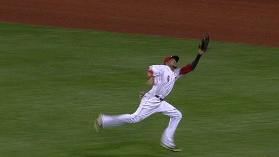 Hamilton's hustling catch