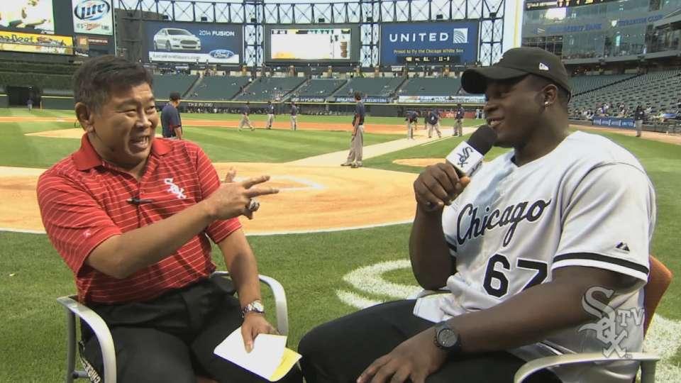 At the Ballpark: Jordan Mills