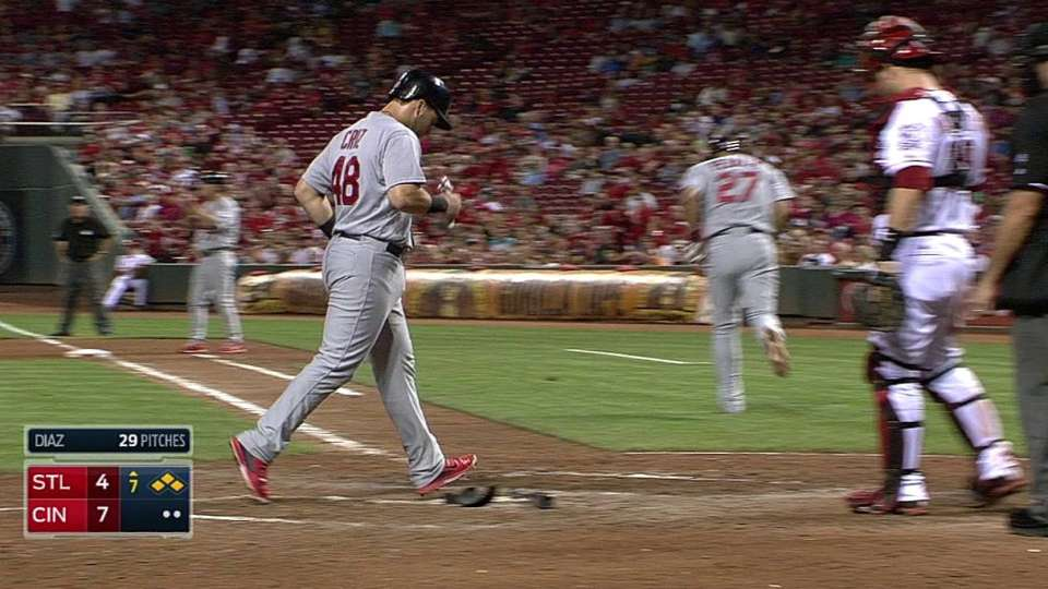 Peralta's bases-loaded walk