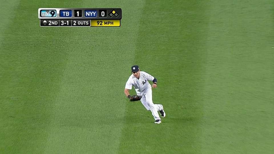 Ellsbury's nice catch