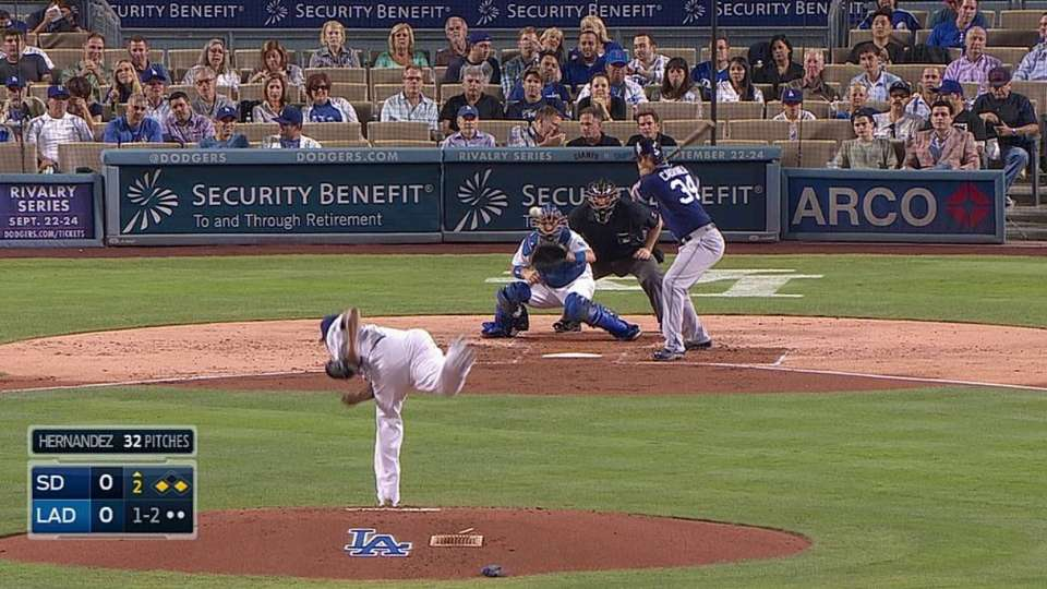 Cashner's two-run double