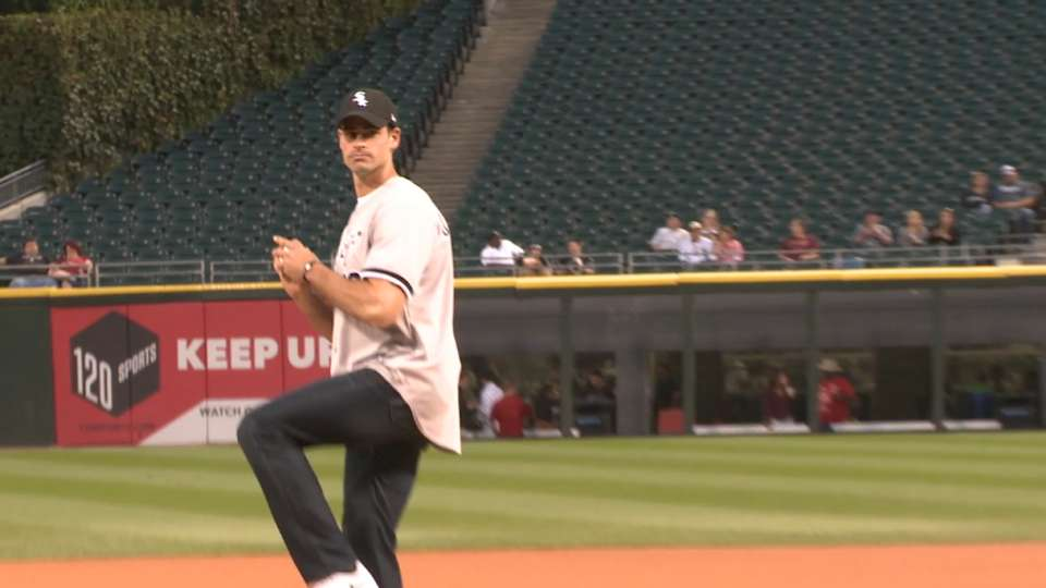 O'Donnell's first pitch
