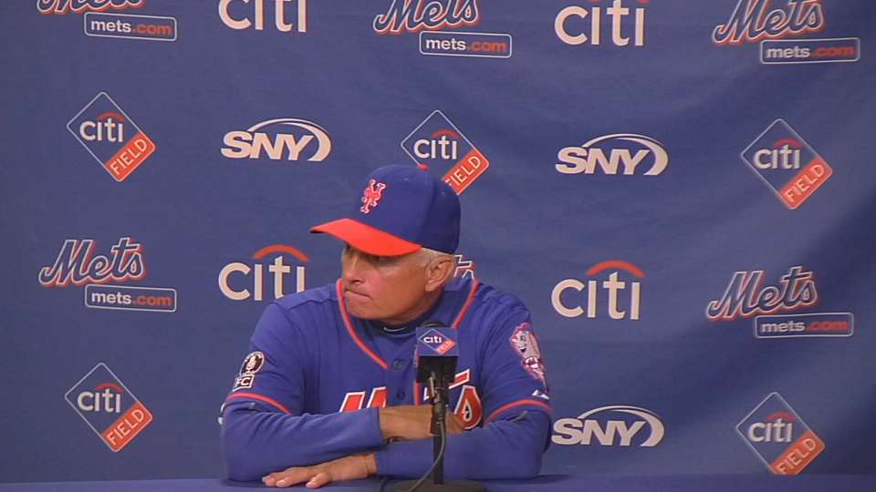Collins on bullpen, 2-0 victory