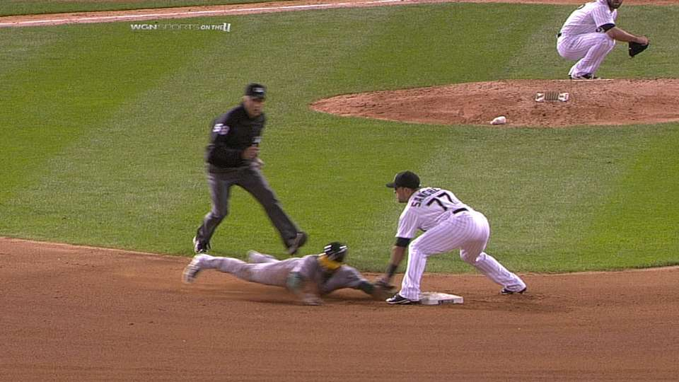 Out call confirmed in the 8th