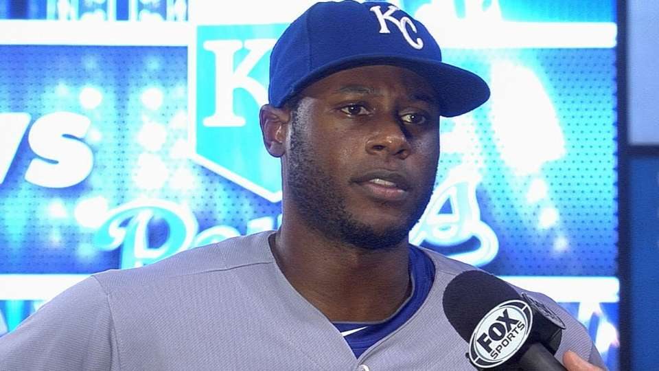 Cain on Royals' 3-0 victory