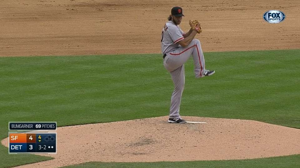 Bumgarner earns the victory