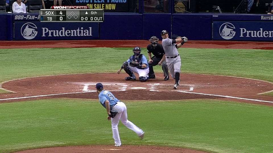 A. Garcia's second homer