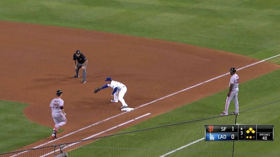 Dodgers turn two, escape jam