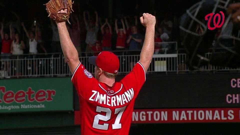 Zimmermann on first no-hitter