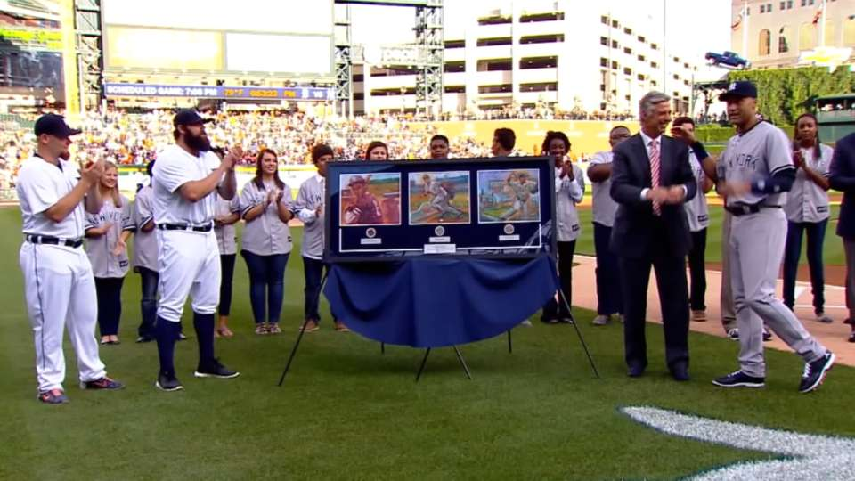 Jeter's farewell gifts