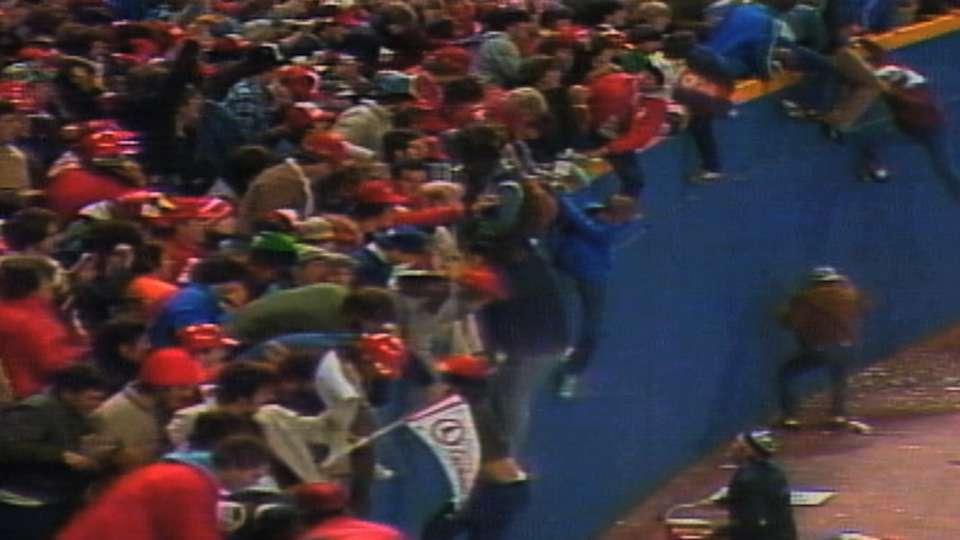 Cardinals win the 1982 Series