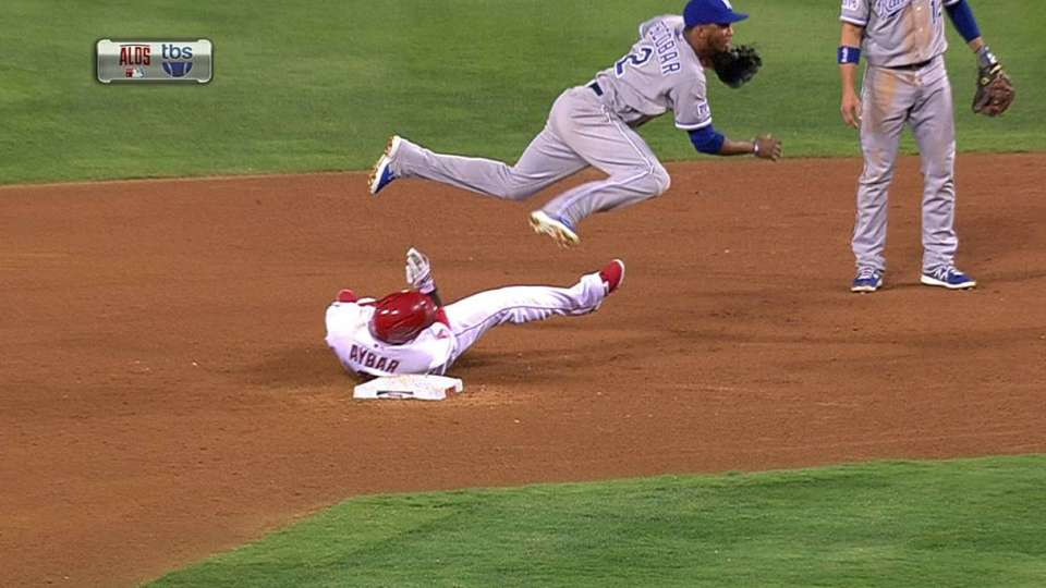 Infante starts double play