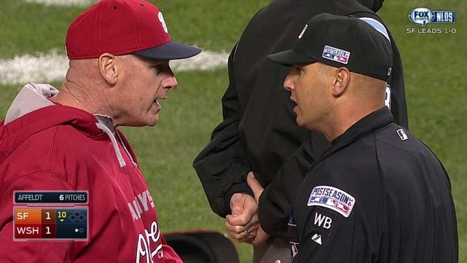 Asdrubal, Williams ejected