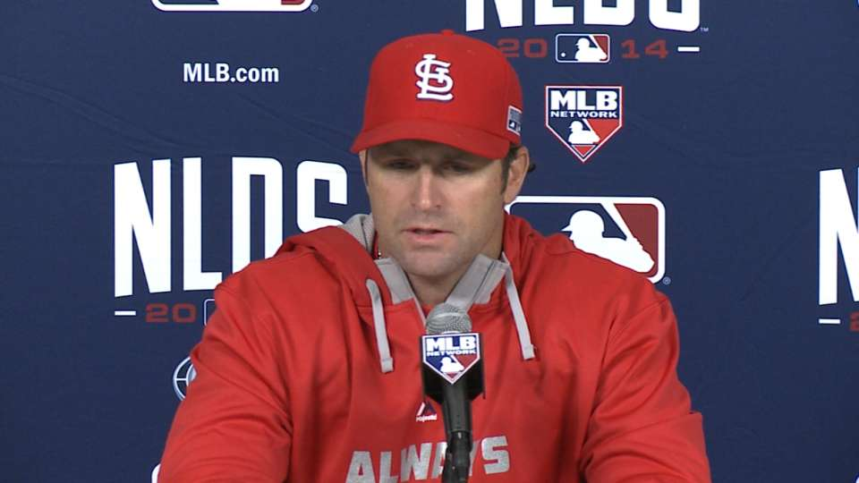 Matheny on approach to Game 3